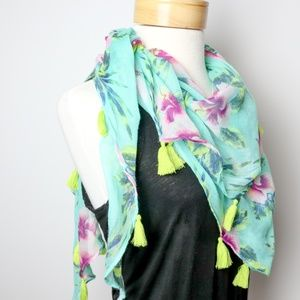 Mint and Star Gazer Oversized Scarf